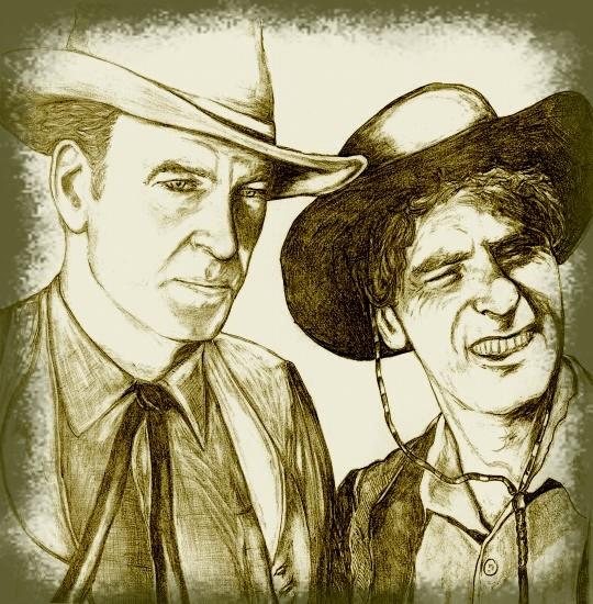 Burt Lancaster, Gary Cooper par didgiv